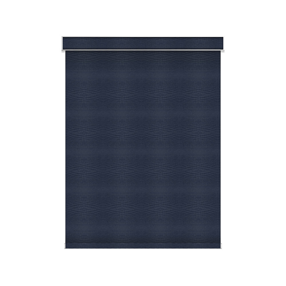 Blackout Roller Shade - Chainless with Valance - 55.75-inch X 60-inch