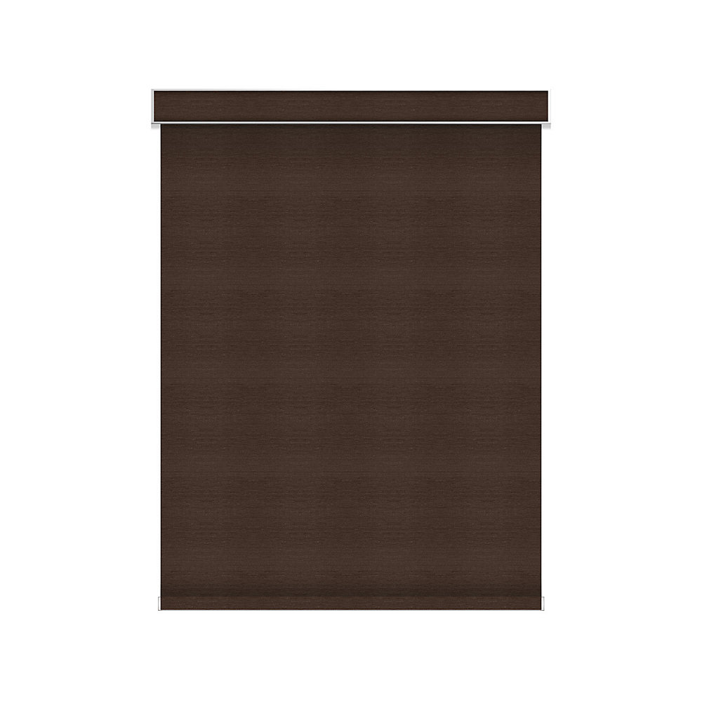 Blackout Roller Shade - Chainless with Valance - 55.25-inch X 84-inch