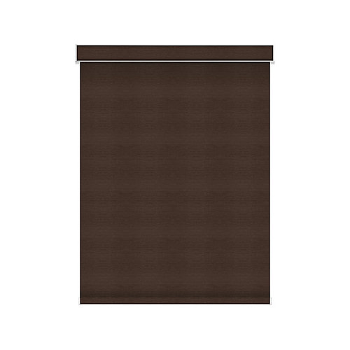Blackout Roller Shade - Motorized with Valance - 77.75-inch X 60-inch