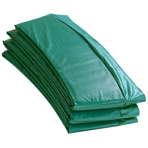 Coussin de sécurité de remplacement de Super trampoline pour cadres ronds de 15 pi-vert