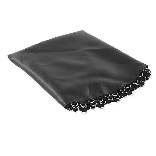Tapis de remplacement pour trampoline, convient pour les cadres ronds de 12 pi avec 72 anneaux en V