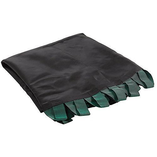 Tapis de saut à la bande de remplacement de trampoline, convient aux cadres ronds à tube plat de 12