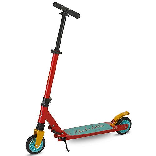 Skedaddle S-30 Premium pliant Kids Kick scooter-rouge