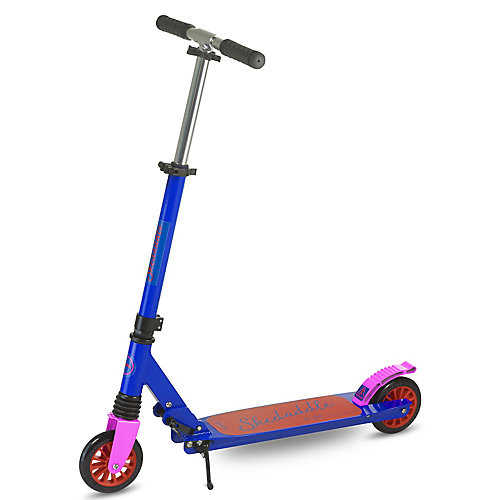 Skedaddle S-30 Premium pliant Kids Kick scooter-bleu