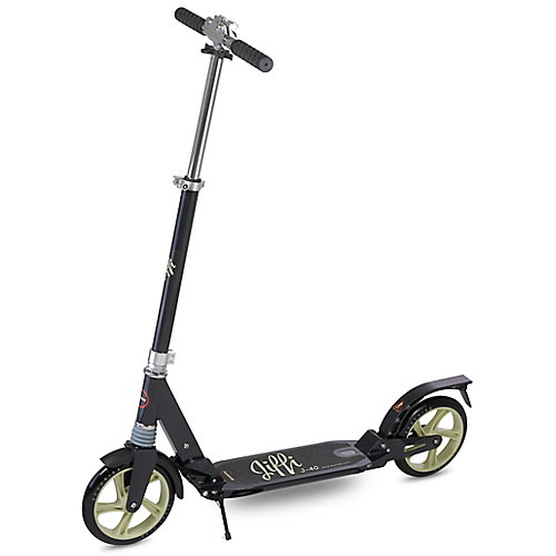 Jiffi J-40 Premium Folding adulte Kick scooter-noir