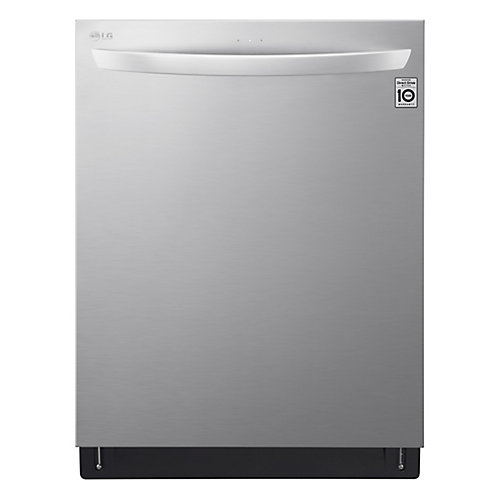 23.75-inch Top Control Dishwasher in Stainless Steel with QuadWash, 3rd Rack, Wi-Fi Enabled - ENERGY STAR®