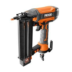 RIDGID 18-Gauge 2-1/8 -Inch Brad Nailer with CLEAN DRIVE Technology