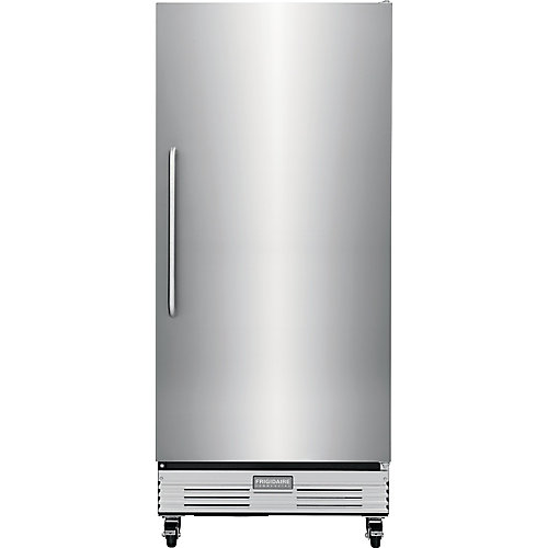 32-inch W 17.9 cu. ft. Refrigerator in Stainless Steel