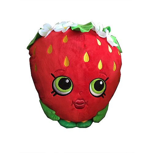 Moose Toys Shopkins Strawberry Character Pillow