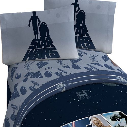 Lucas Films Star Wars Classic Twin Sheet Set