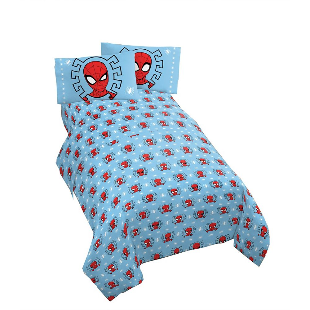 Marvel Spiderman Twin Sheet Set