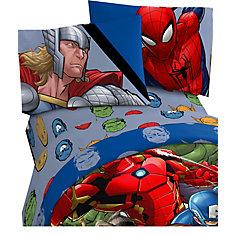 Avengers Assemble Enseble de Draps pour Lit 1 Place