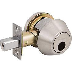 Pêne dormant à cylindre simple de 1600 GR2 US32D, moins de cylindre, appui réglable