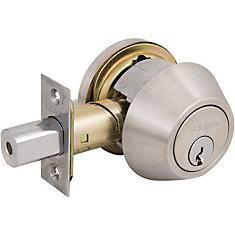 Pêne Dormant à 1 cylindre US32D, SC1, 1600 GR2, Dispositif de rappel réglable