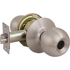 Bouton d'entrée US32D, moins de cylindre, GR2 2010, pas de vis de 2-3/4  po