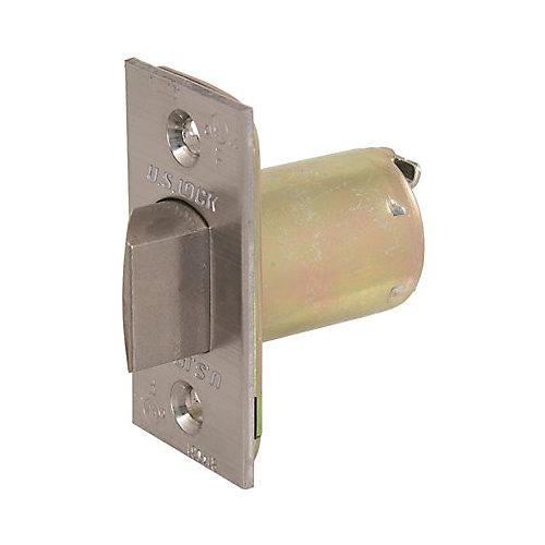 3000 GR1 Standard Spring Latch Us26d, 2-3/8 inch Backset