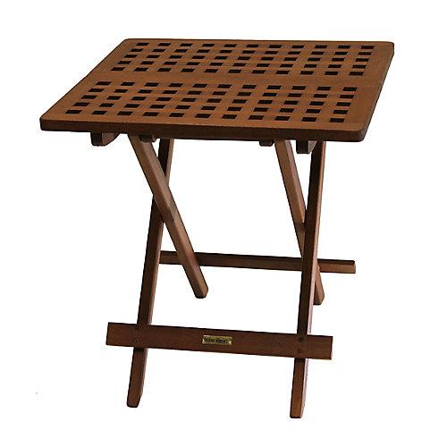 Eucalyptus Folding Side Table