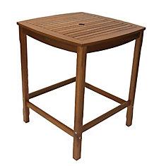 Eucalyptus Square Bar Height Table