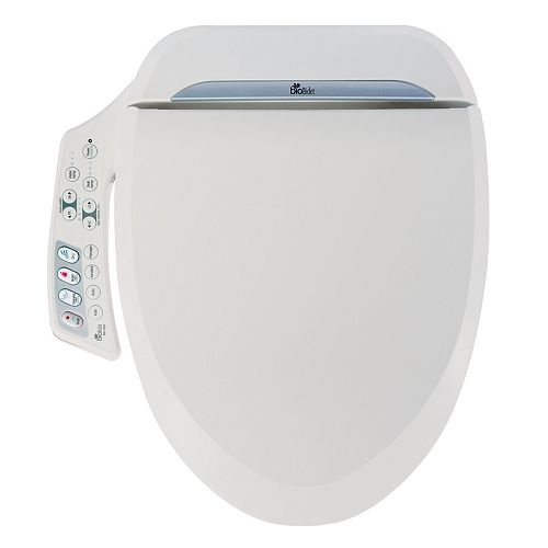 Bio Bidet Ultimate BB-600 Electric Bidet Seat for Round Toilet in White