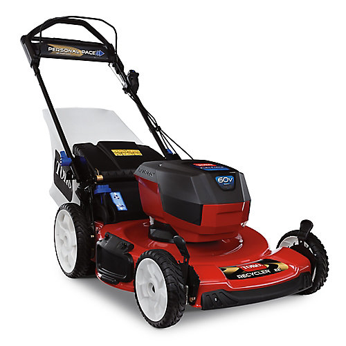 22 inch Recycler Personal Pace 60V Max (7.5ah) Battery Mower