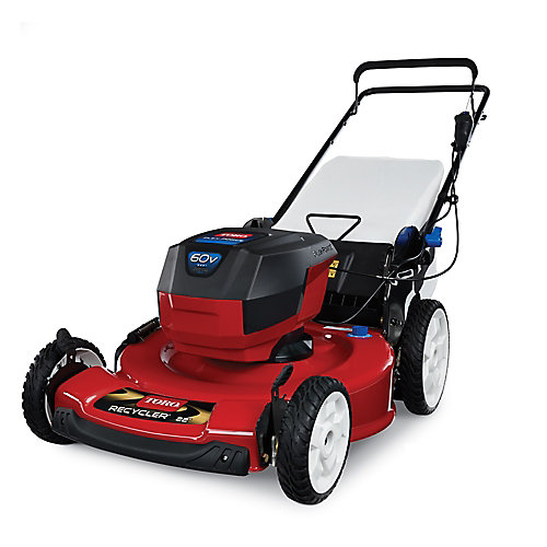 22 inch Recycler 60V Max Battery Mower (Tool Only)