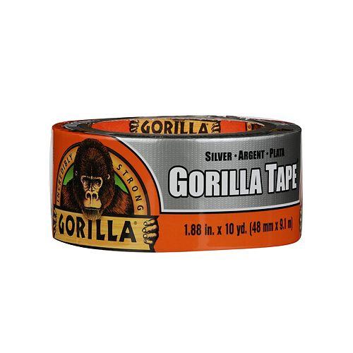 Gorilla Silver Tape 12 yd