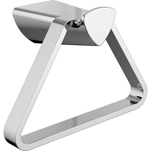 Delta 7.8-inch W Zura Towel Ring in Polished Chrome