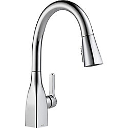 Mateo Single Handle Pull-Down Kitchen Faucet with ShieldSpray Technology in Chrome