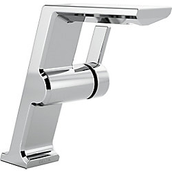 Pivotal Single Handle Mid-Height Vessel Lavatory Faucet, Chrome