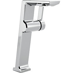 Pivotal Single Handle Vessel Lavatory Faucet, Chrome