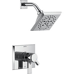 Pivotal Monitor 17 Series H2Okinetic Shower Trim in Chrome
