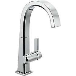 Pivotal Single Handle Bar/Prep Faucet in Chrome