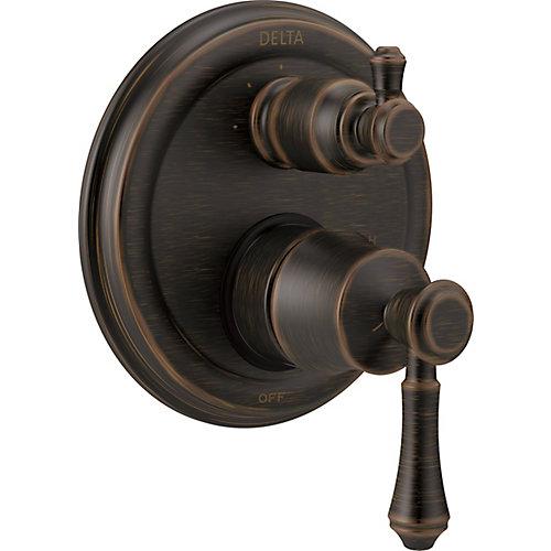 Traditional 2-Handle Monitor 14 Series Valve Trim, 3-Setting Integrated Diverter, Venetian Bronze