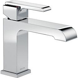 Ara Single Handle Lavatory Faucet - Less Pop Up, Chrome
