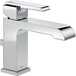 Ara Single Handle Lavatory Faucet - Metal Pop-Up, Chrome