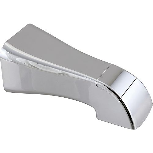 Delta Tesla Tub Spout - Pull-Up Diverter in Chrome