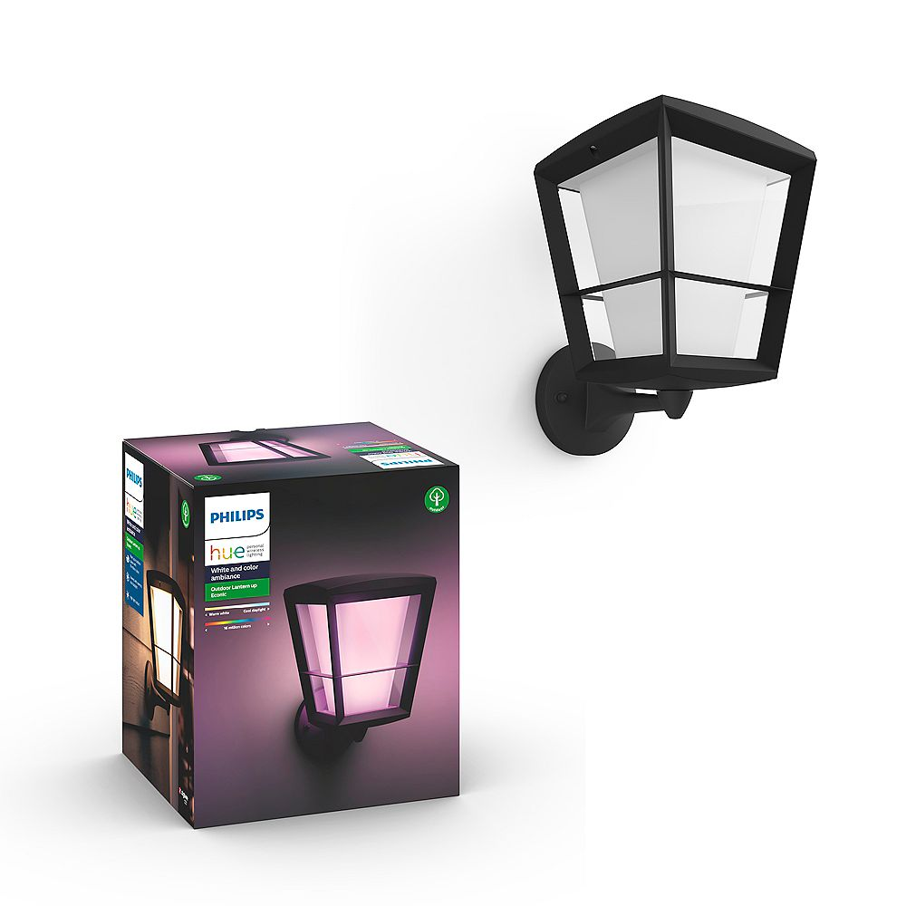 Philips Hue Econic White and Colour Ambiance Up Outdoor Fixture
