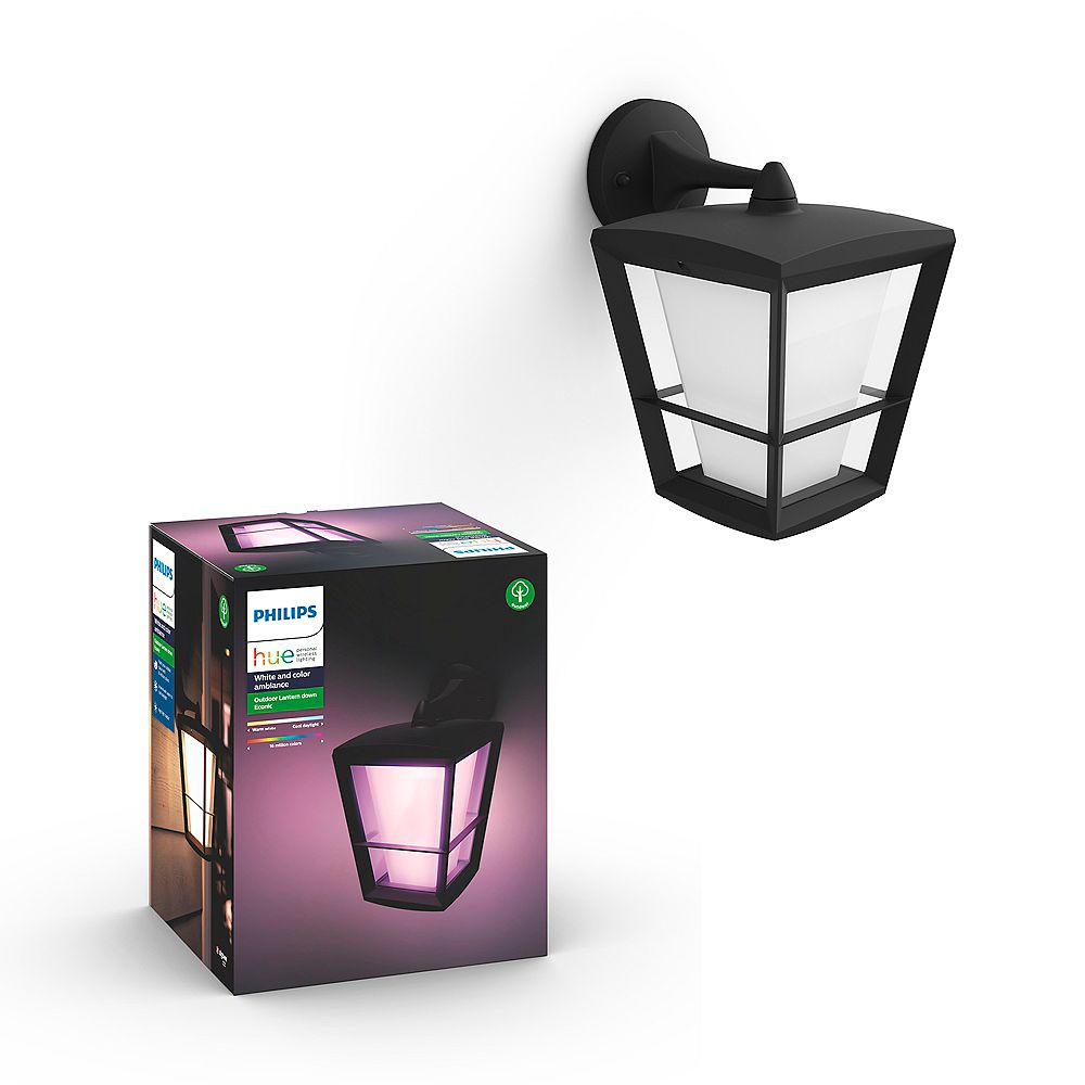 Philips Hue Econic White and Colour Ambiance Down Outdoor Fixture