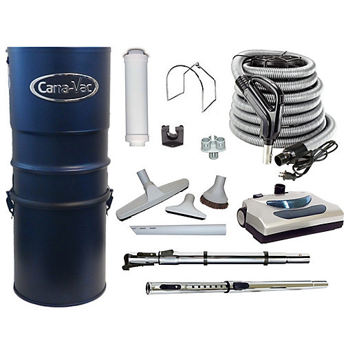 Powerful Electric 566 Air Watts Central Vacuum Cleaner with Accessories