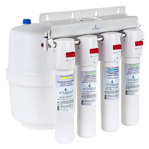 Vitapur Four stage quick connect reverse osmosis treatment system