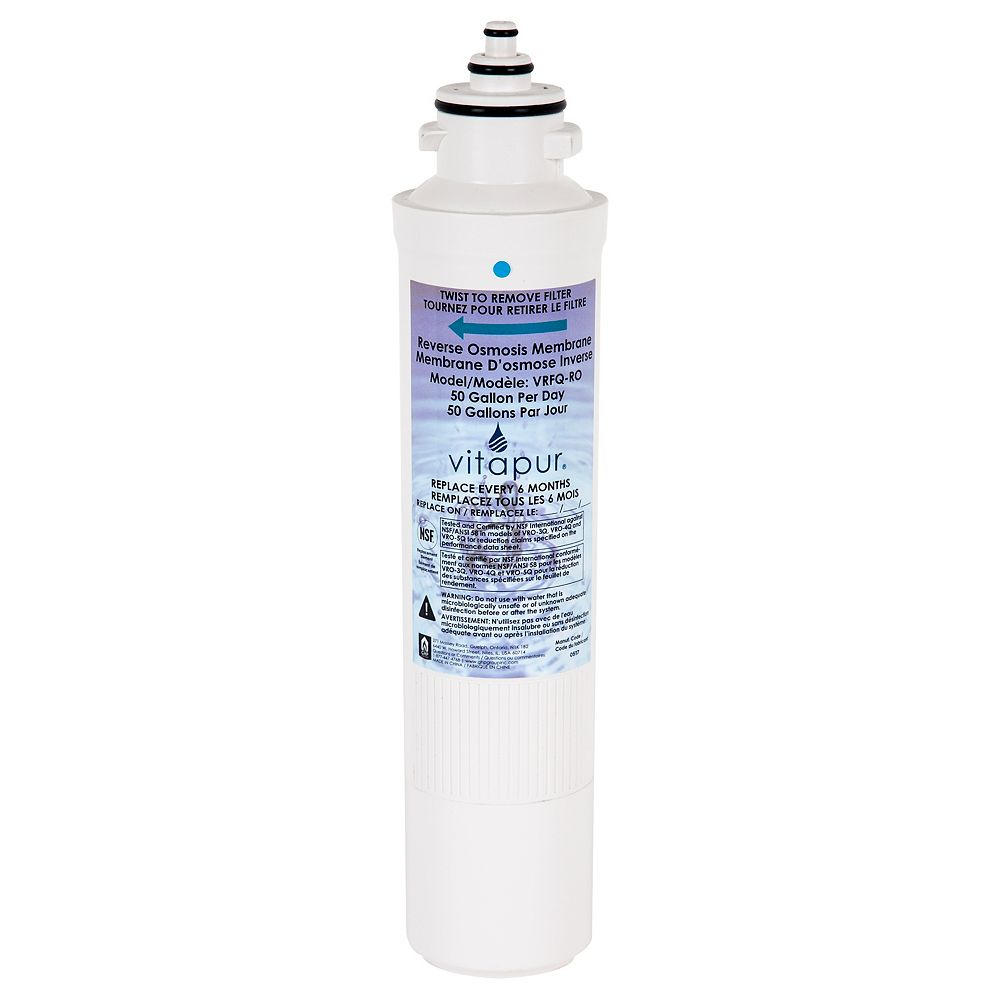 Vitapur Replacement reverse osmosis membrane for use with reverse osmosis treatment systems