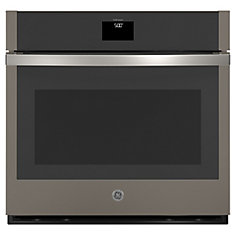 30-inchSmart Single Electric Wall Oven with Self-Cleaning Convection in Slate
