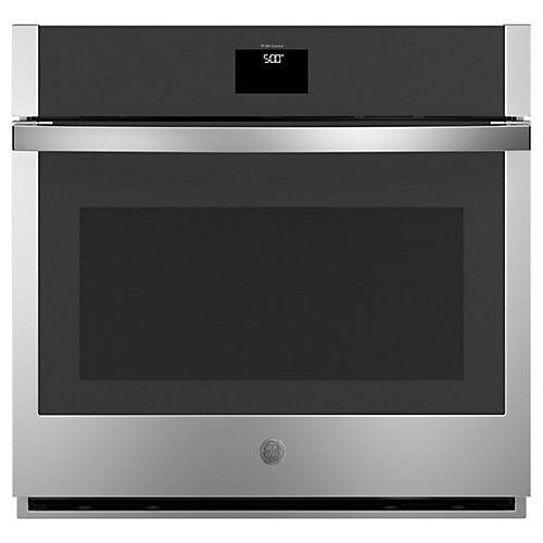 30-inch Single Electric Wall Oven with Self-Cleaning Convection in Stainless Steel