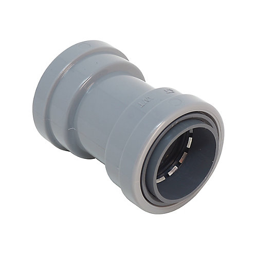 1/2 inch PVC-CIC SIMPush Coupling