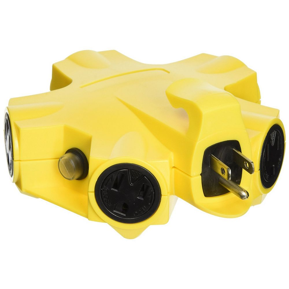 Yellow Jacket Outdoor 5 Outlet Power Adapter