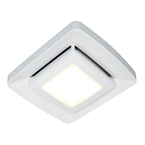 Nutone Bathroom Exhaust Fan Upgrade Grille Cover with LED Light