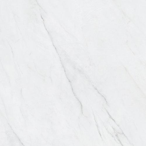 Carrelage de porcelaine rectifiée polie Vera Carrara de 24 po x 24 po.