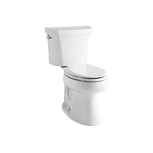 Highline Comfort Height(R) two-piece elongated dual-flush toilet