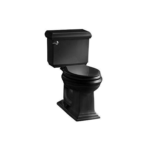 KOHLER Comfort Height(R) two-piece elongated 1.6 gpf toilet
