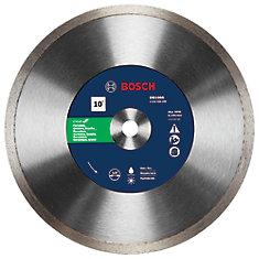 10 inch Rapido Premium Continuous Rim Diamond Blade for Porcelain Tile